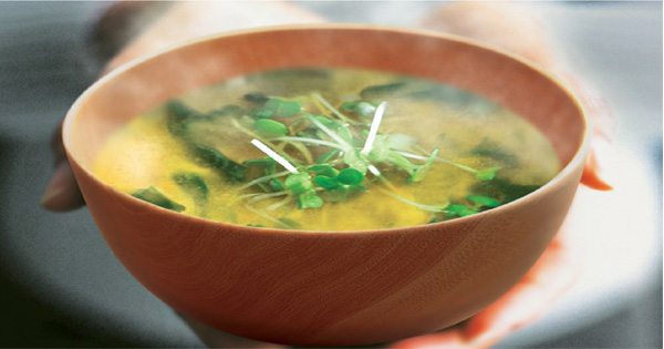 blog picture of bow of miso soup